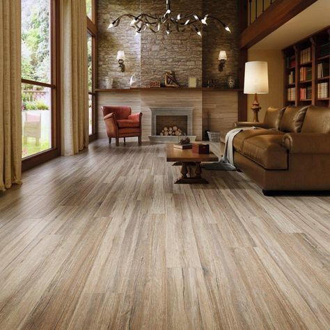 Simple Navarro Beige Wood Plank Porcelain Tile Amazing - Minimalist wood tile Contemporary