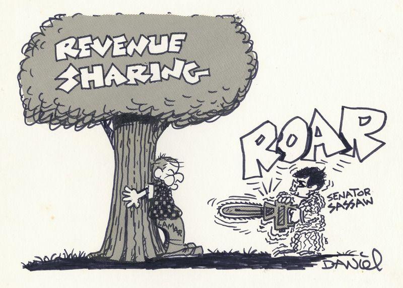 Revenue Sharing…Roar (undated)