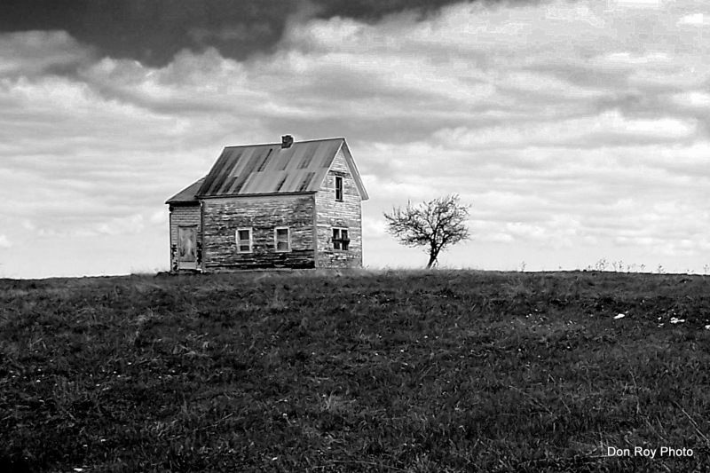 Watton, Michigan. usa.  Once a thriving farm, now abandoned.  Maybe 1930's or…