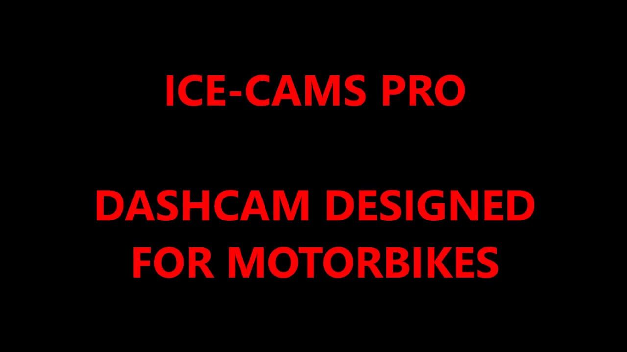 ICE-CAMS PRO (Dashboard Dual Camera System)