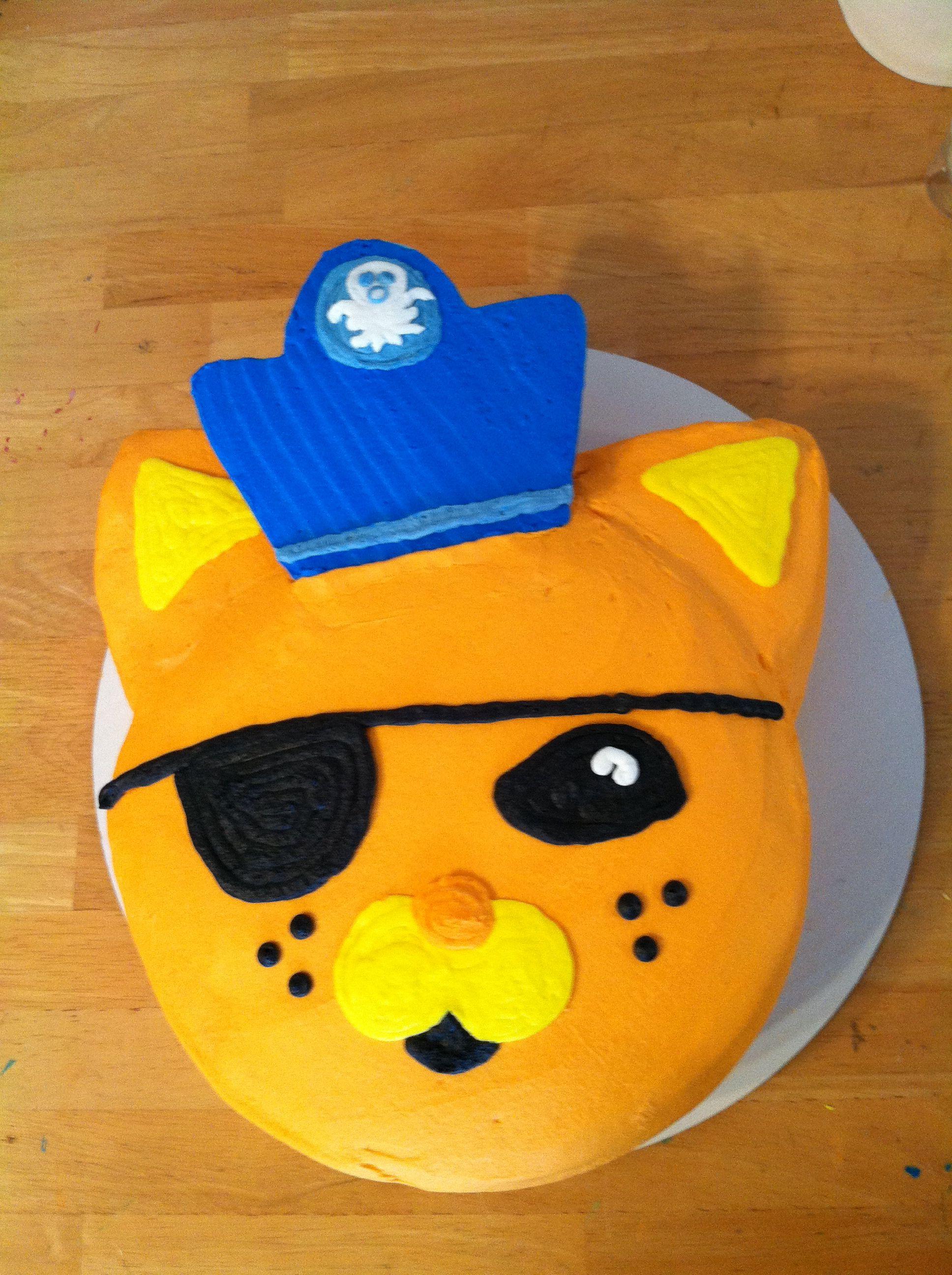 An Octonauts Birthday -- Kwazii Kitten Birthday Cake ...