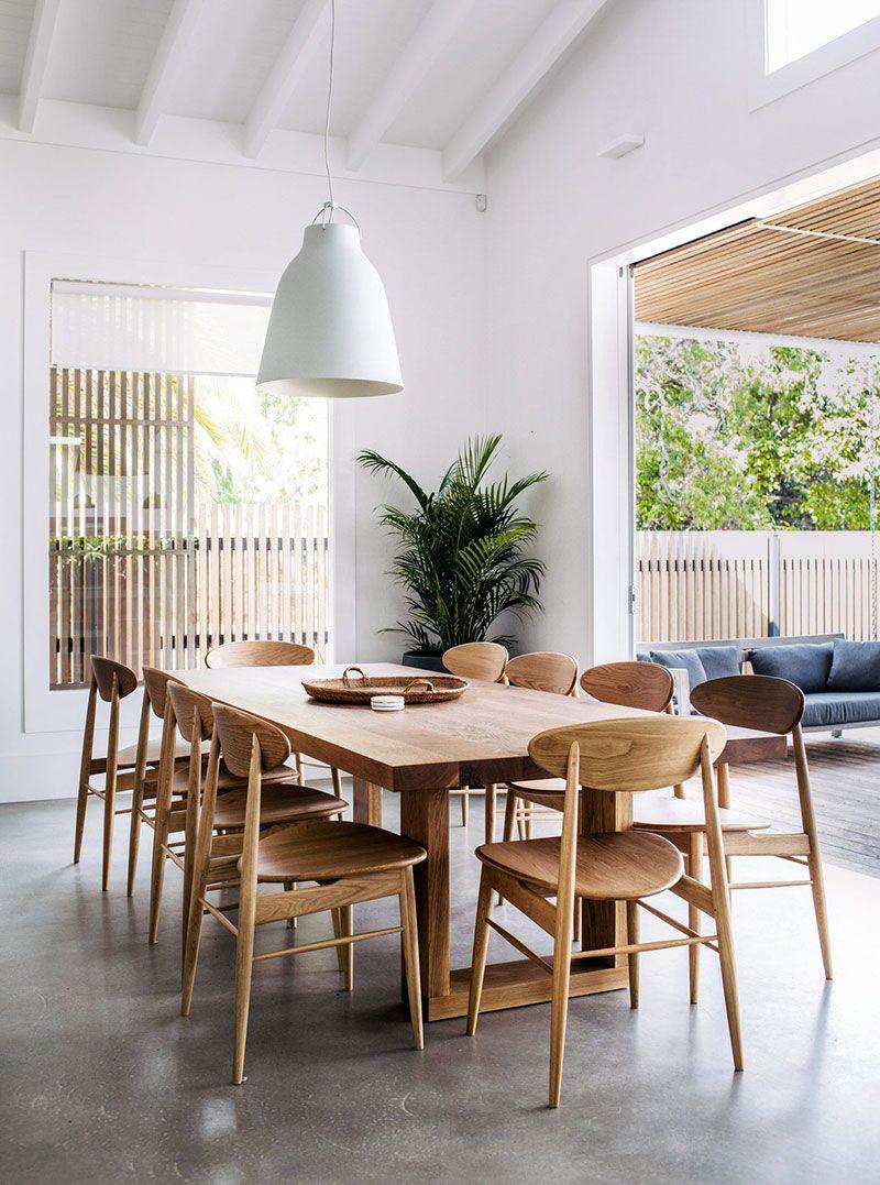 dining area design on Yarkij Sovremennyj Dizajn Avstralii V Rabotah Fotografa Hannah Blackmore Photos Ideas Design Dining Room Design Dining Table Design Modern Beautiful Dining Rooms