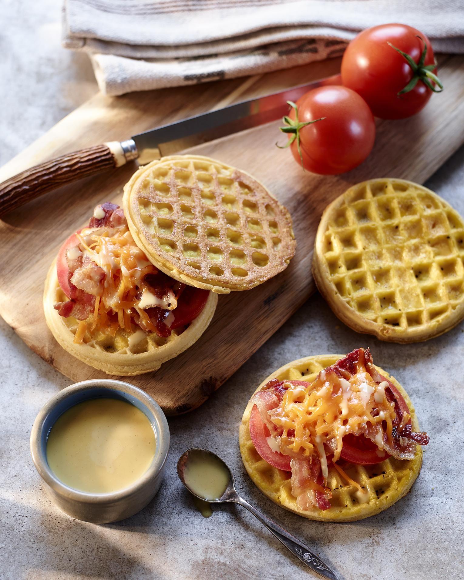 Foodtruck breakfast waffle