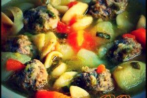 Meatball soup   Una cucina da single   Pinterest   Meatball soup