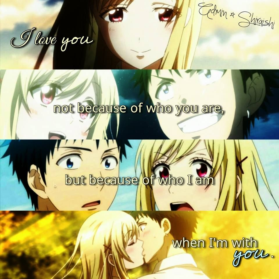 Anime Quotes About Friendship Anime Yamadakun To Nananin No Majo  Anime Quotes  Pinterest