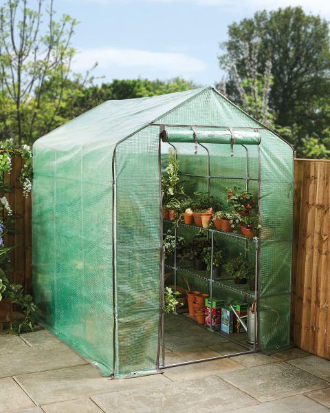 Large Walk In Greenhouse Growing Plants Aldi Ideas 400 x 300