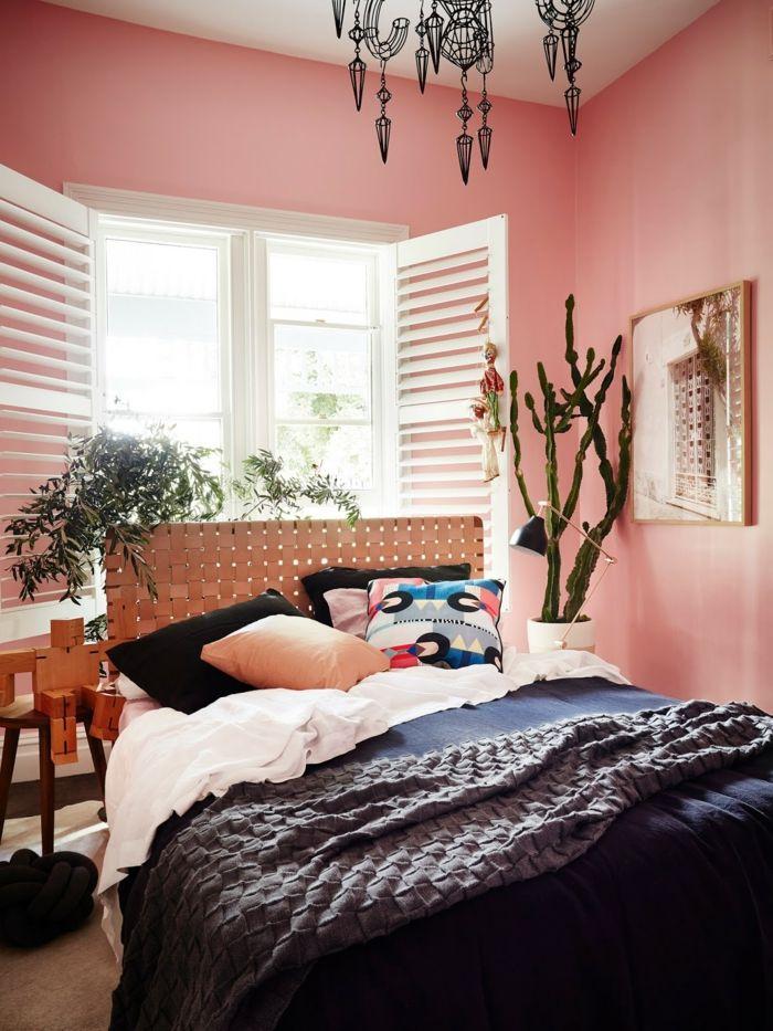 1001+ Ideen für Bilder für Wandfarbe Altrosa, die modern und stylisch sind   Schlafzimmer design ...
