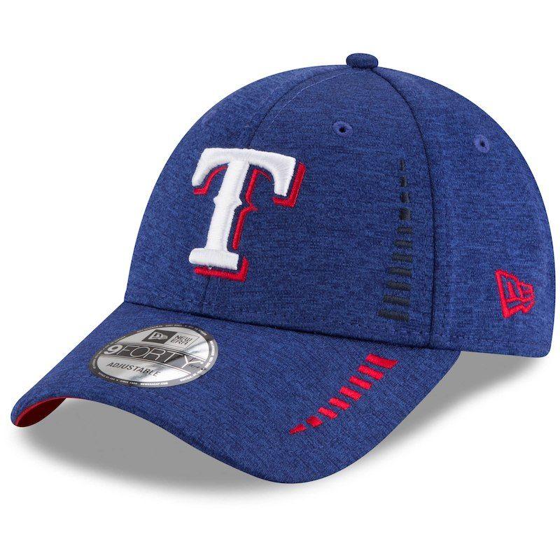 8b5b898b Texas Rangers New Era Speed Shadow Tech 9FORTY Adjustable Hat - Royal