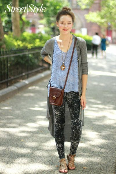 e2418f10e705e Philly #StreetStyle: What a Free People Designer Wears. (Hint: Lots of  leggings, no black.)