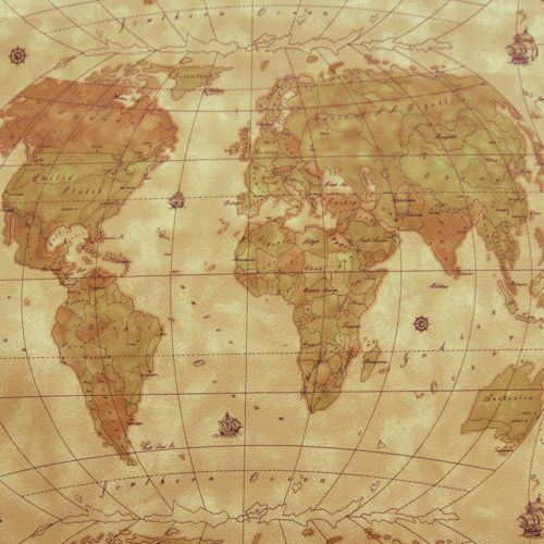 Vinyl world map knit back marine outdoor upholstery luggage fabric details about vinyl world map knit back marine outdoor upholstery luggage fabric 54w by metre gumiabroncs Images