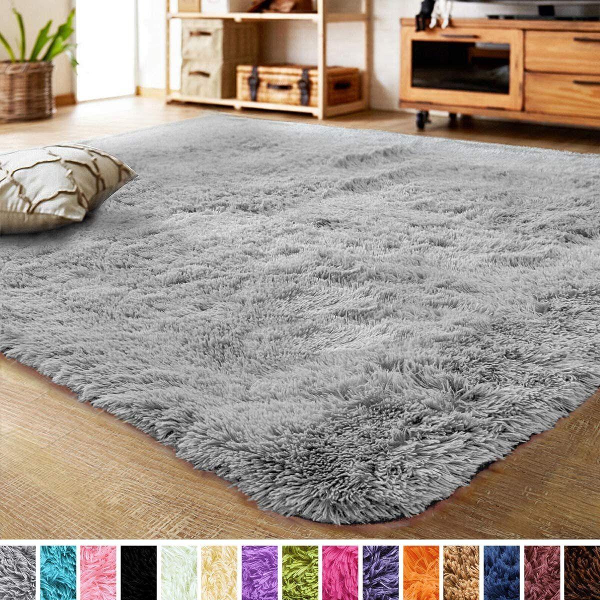Lochas Ultra Soft Indoor Modern Area Rugs Fluffy Living Room Carpets For Children Bedroom Home Decor In 2020 Living Room Carpet Room Carpet Fluffy Rug