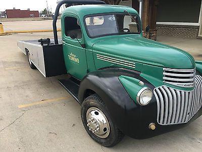 1946 Chevy Ramp Truck Car Hauler Wrecker Truck Flatbeds 1946 Chevy Truck Chevy Trucks
