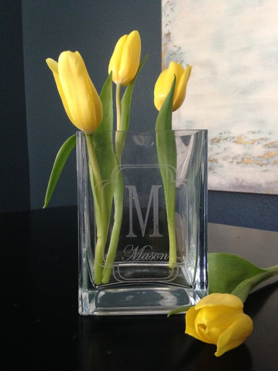 Personalized Vase by CarlMadison on Etsy