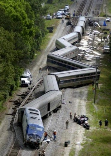 Image result for picture of a train wreck