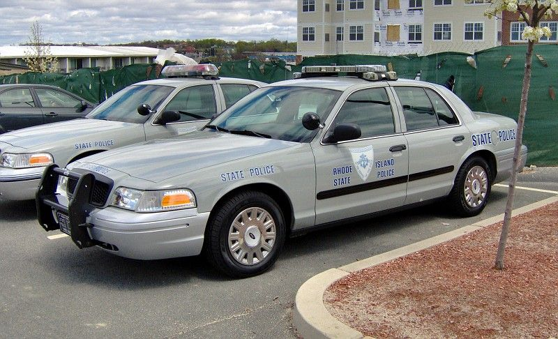 Rhode island state police ford cvpi police cars ford
