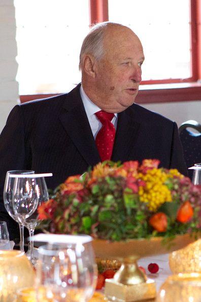 10/14/14. Norwegian Royal Family visits the Munch Museum