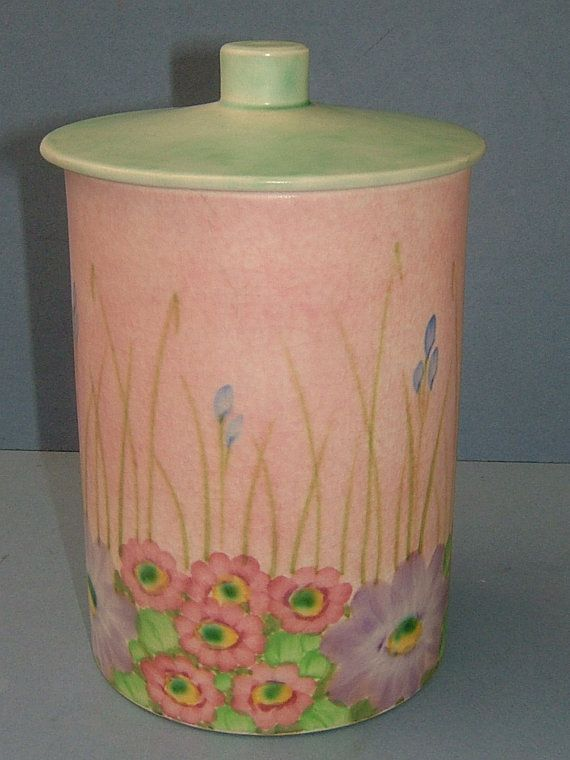 1920s HJ Wood E Radford Hand Painted Art Deco by BiminiCricket, $45.00