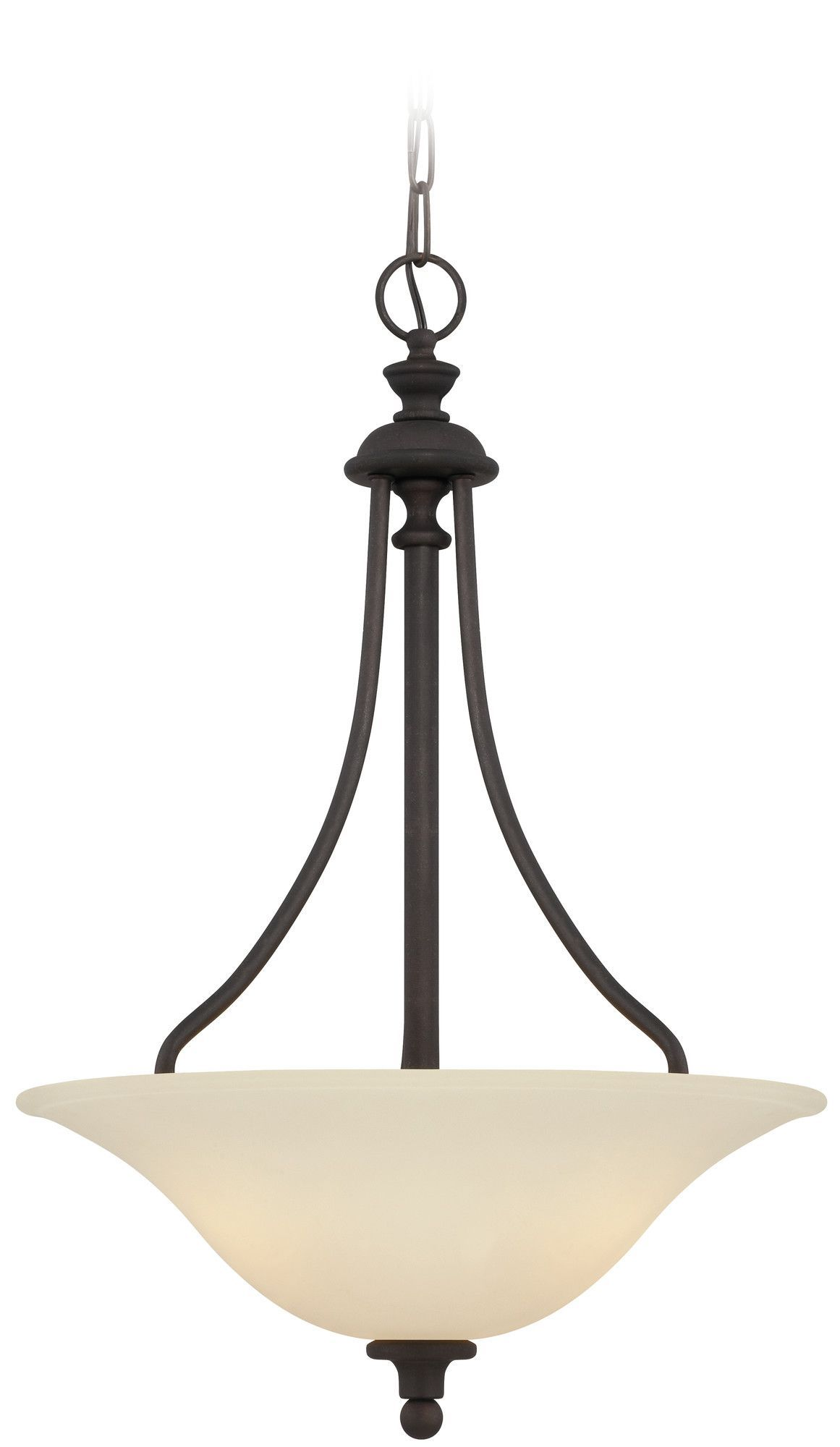 Willow Park 3 Light Inverted Pendant
