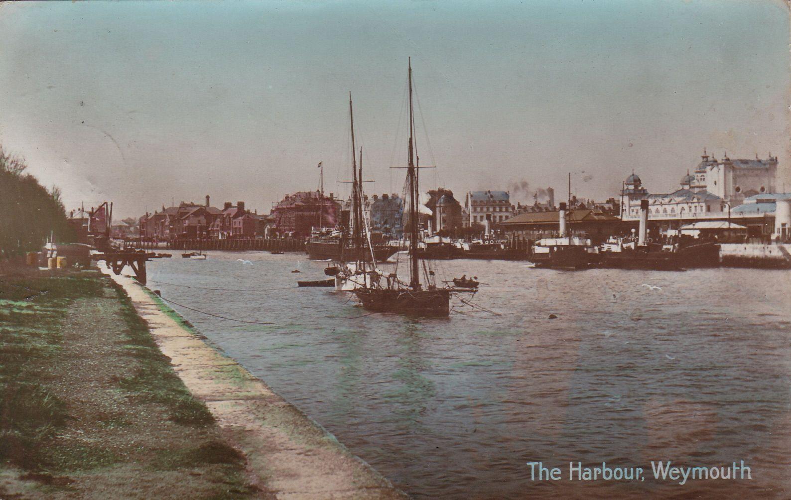 The Harbour, Weymouth, Dorset : Postcard (1913) • EUR 4,73 ...