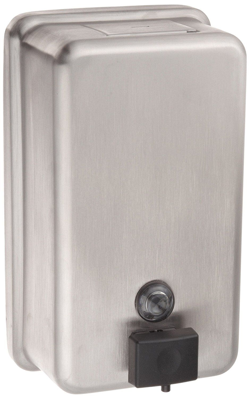 Metal Dispenser Soap Dish Toothbrush Holder Bathroom: Bobrick 2111 ClassicSeries Surface-Mounted Soap Dispenser