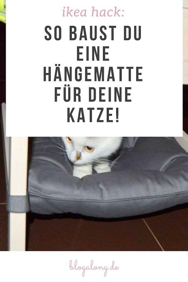 ikea hack die gem tliche h ngematte f r katzen best of pinterest deutschland gruppenboard. Black Bedroom Furniture Sets. Home Design Ideas