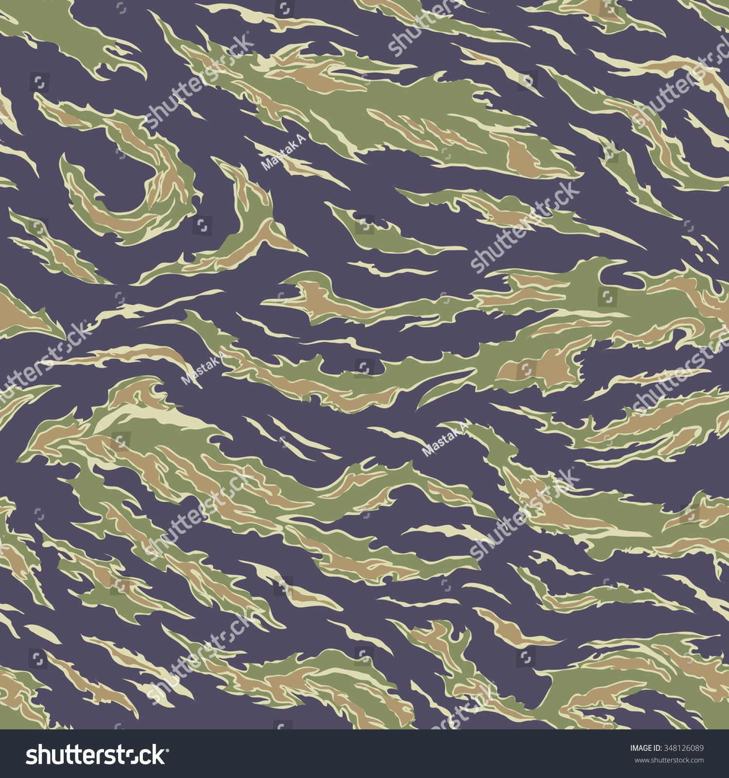 Military Camouflage Textile Seamless Usa 19641975 Stock Vector 348126089