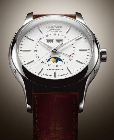 Wempe Chronometerwerke | Timemaster moonphase