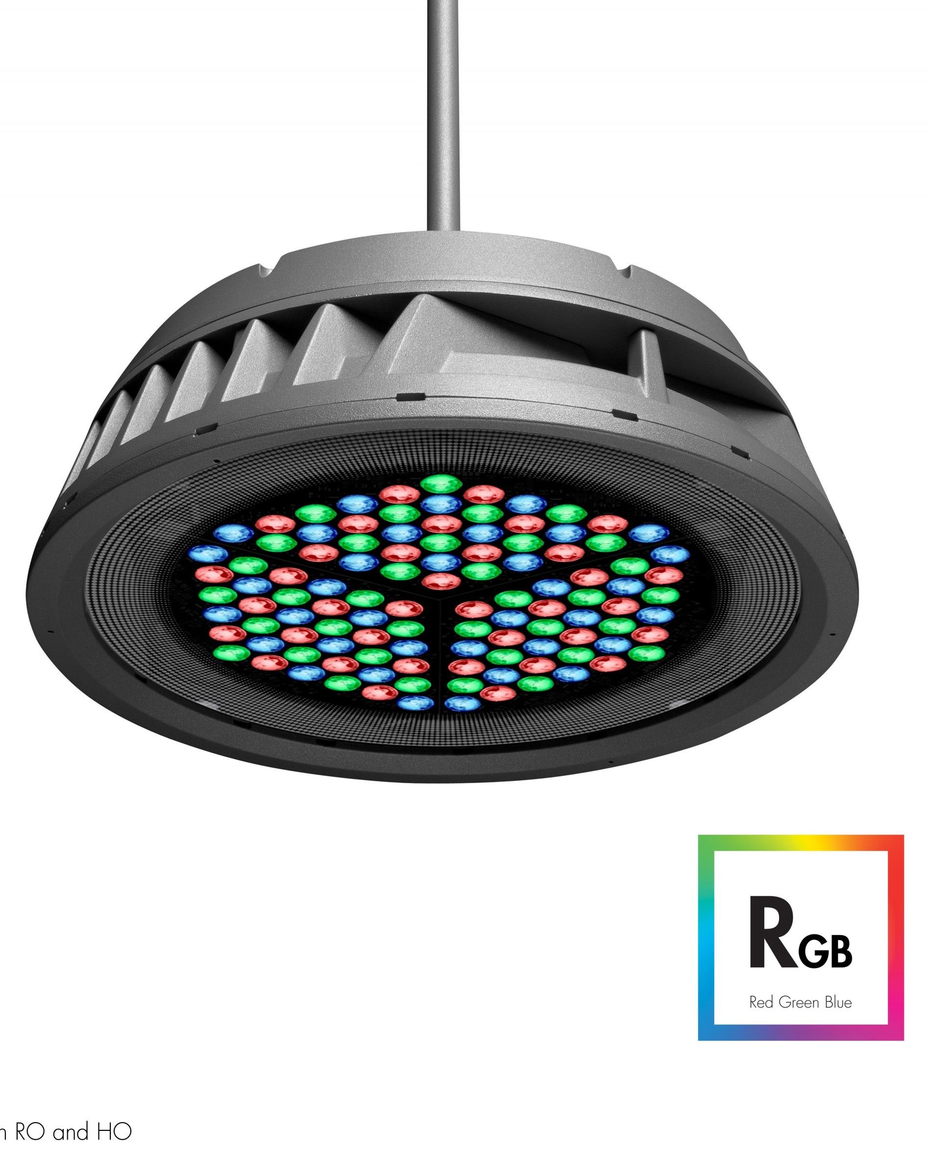Lumenbeam Lbx Pendant Colour Changing Suspended Luminaire For