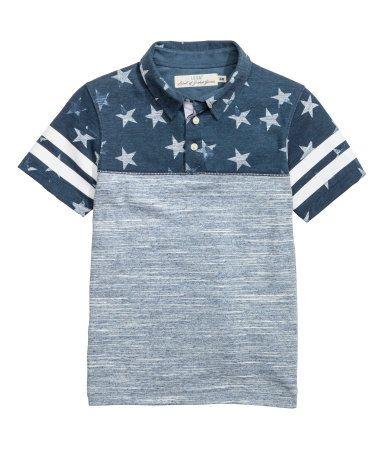 Slub Jersey Polo Shirt  836305ece2432