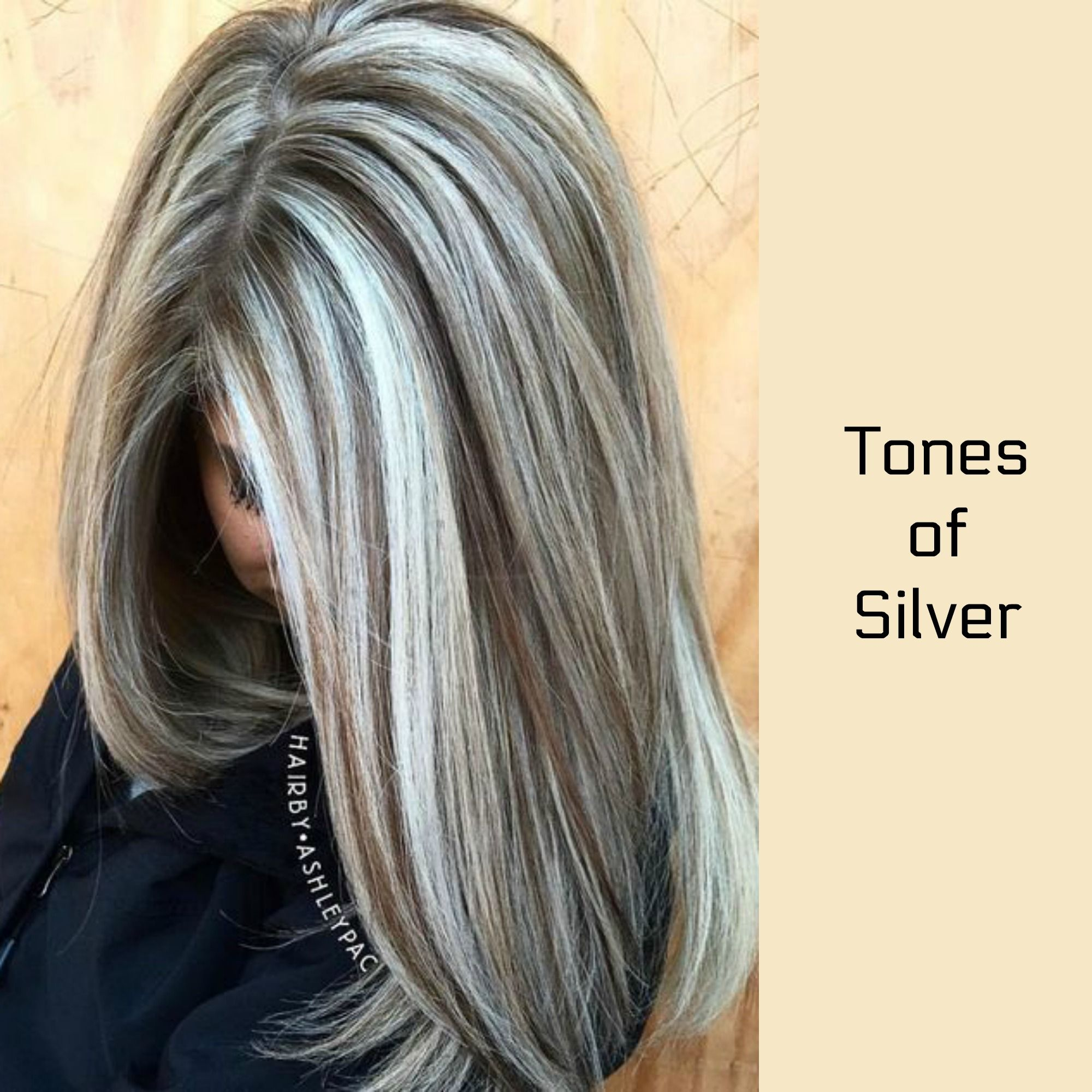 silver toned hair! | hair highlights, gray hair highlights