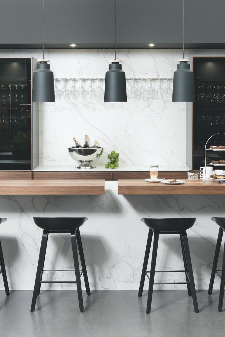 marmor in der küche: die schönsten ideen und bilder, Hause und garten