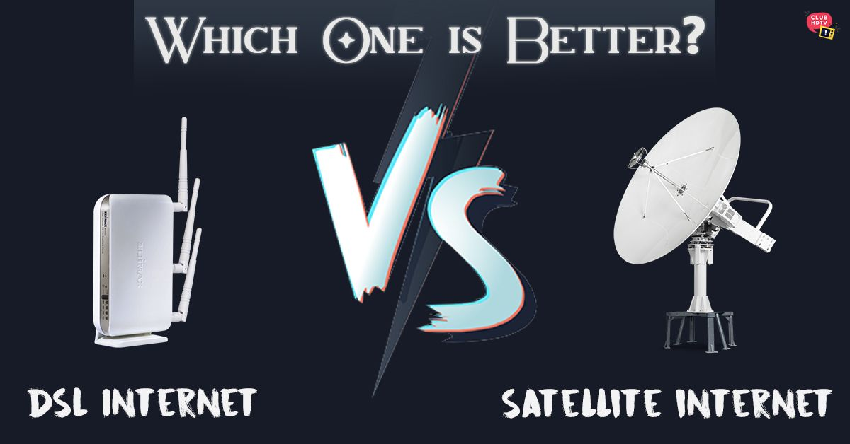 Difference Between Dsl And Satellite Internet Which One Is Better Dsl Internet Slow Internet Internet Speed