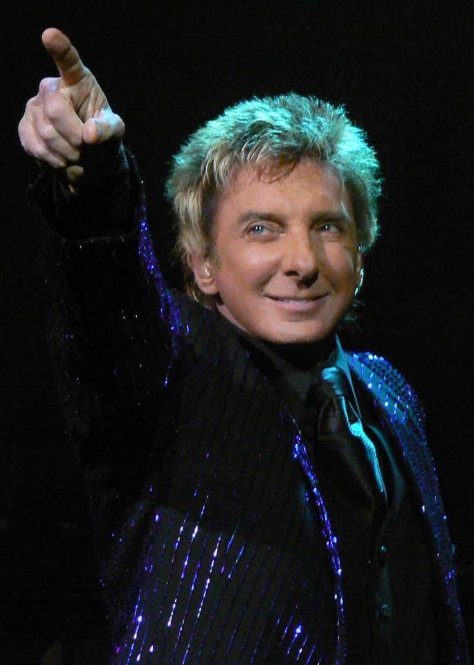 Barry Manilow pointing his finger. | BARRY MANILOW | Pinterest ...