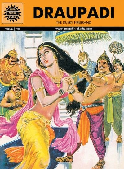 Image result for draupadi comic