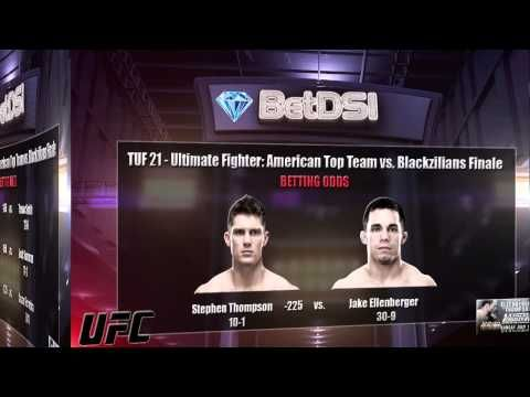 The Ultimate Fighter 21 Odds Tuf 21 Ufc Betting Picks Ufc Betting Ultimate Fighter Ufc