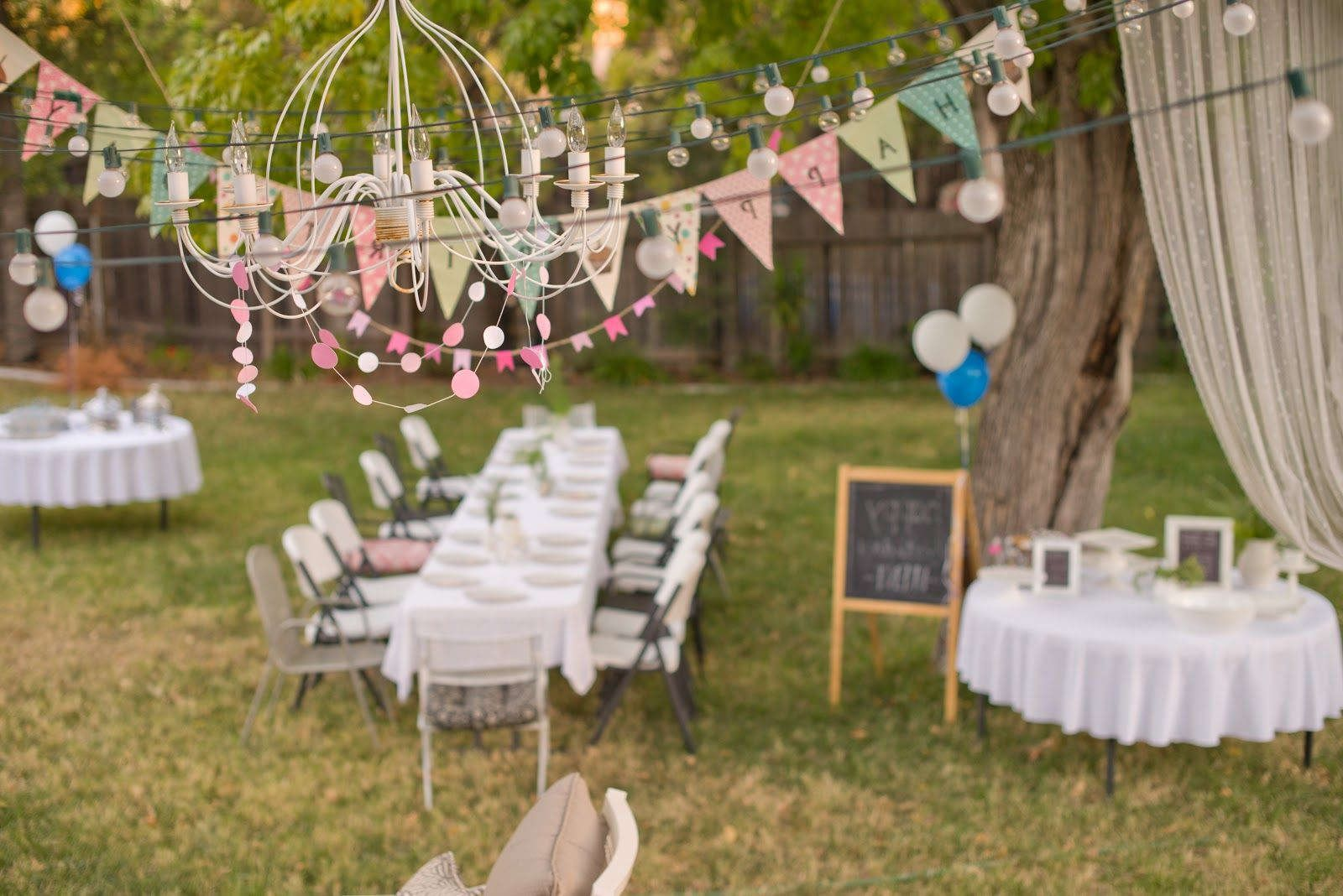 Backyard Party Decorating Ideas planning a backyard bridal shower ideas for a fun outdoor party Backyard Birthday Party Decorating Ideas Google Search
