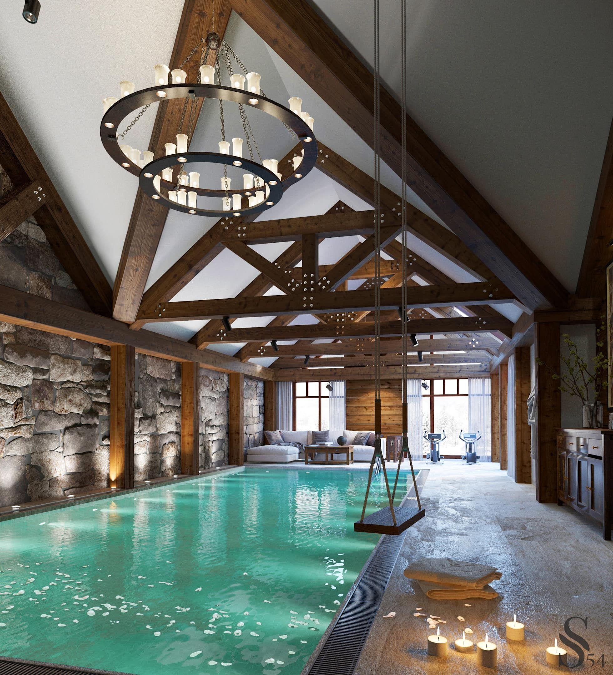 Dachgeschoss Schlafzimmer Design Und Das Beste Von: Häuser Mit Pool, Schlafzimmer