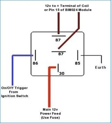 5 pole relay wiring diagram for horn  2009 accent fuel