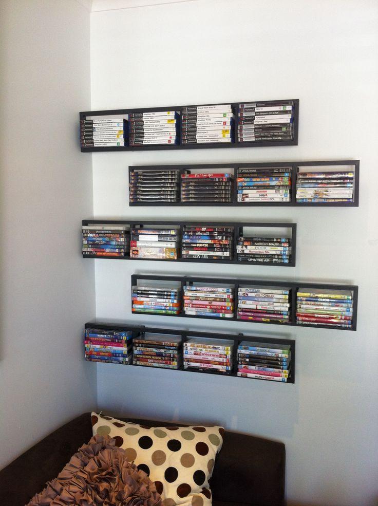 Dvd Shelf Ideas 25+ dvd storage ideas you had no clue about | dvd storage, storage