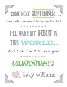 New Baby Announcement Quotes