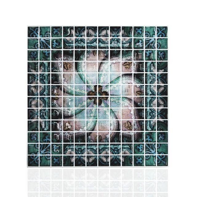 10 x 10 pelar y pegar azulejo de la cocina backsplash del ...