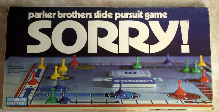 vintage sorry game | Found on etsy.com