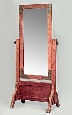 American Mission Cheval Mirror Cheval Mirror Mission Oak Arts And Crafts Furniture