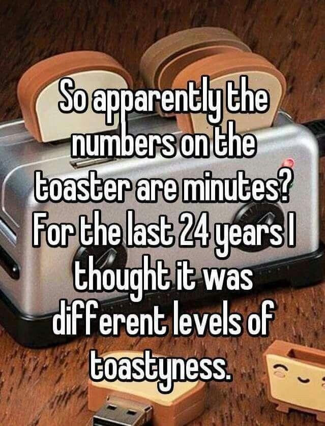 Hahaha...never knew!