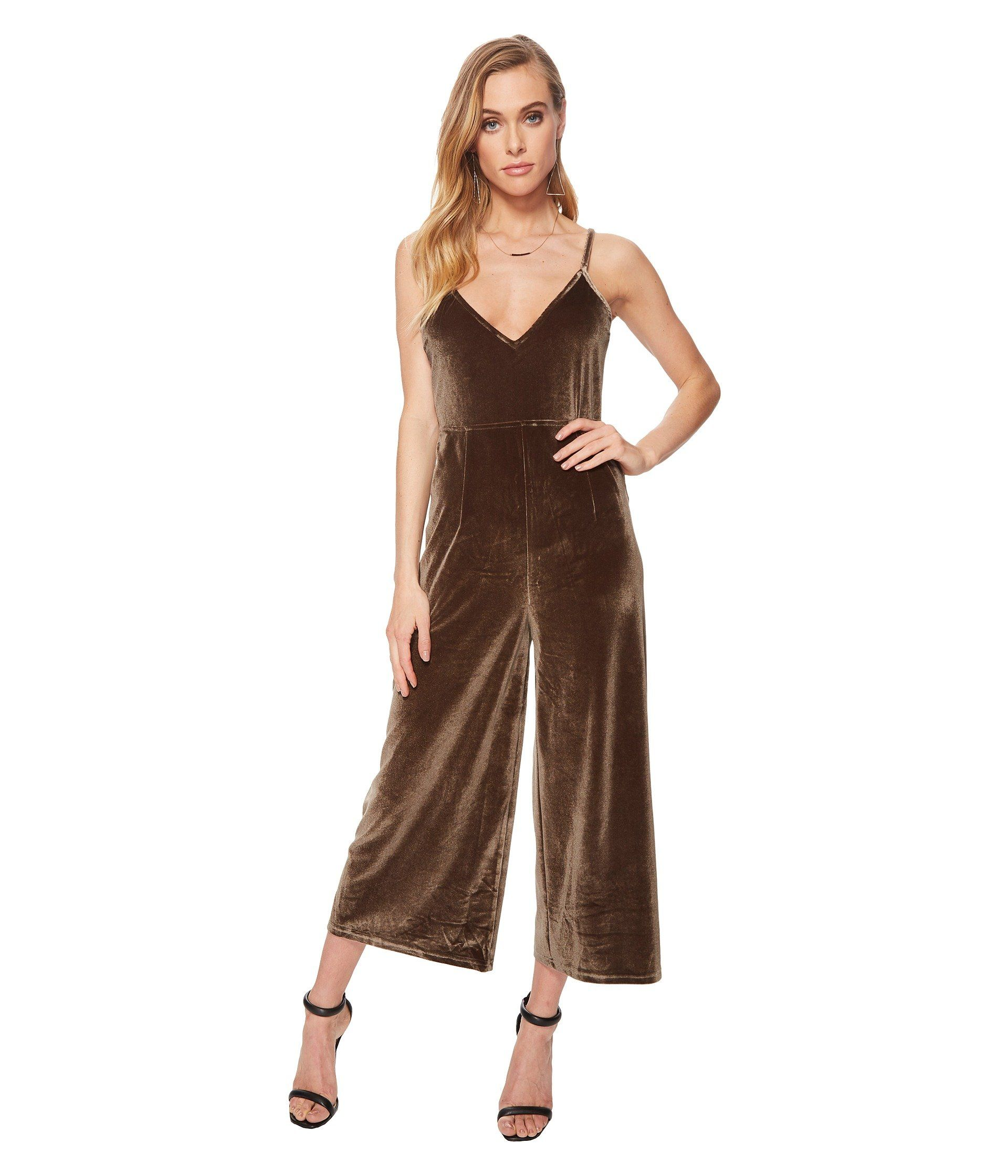 ba0e3c8d69 MINKPINK Velvet Jumpsuit.  minkpink  cloth