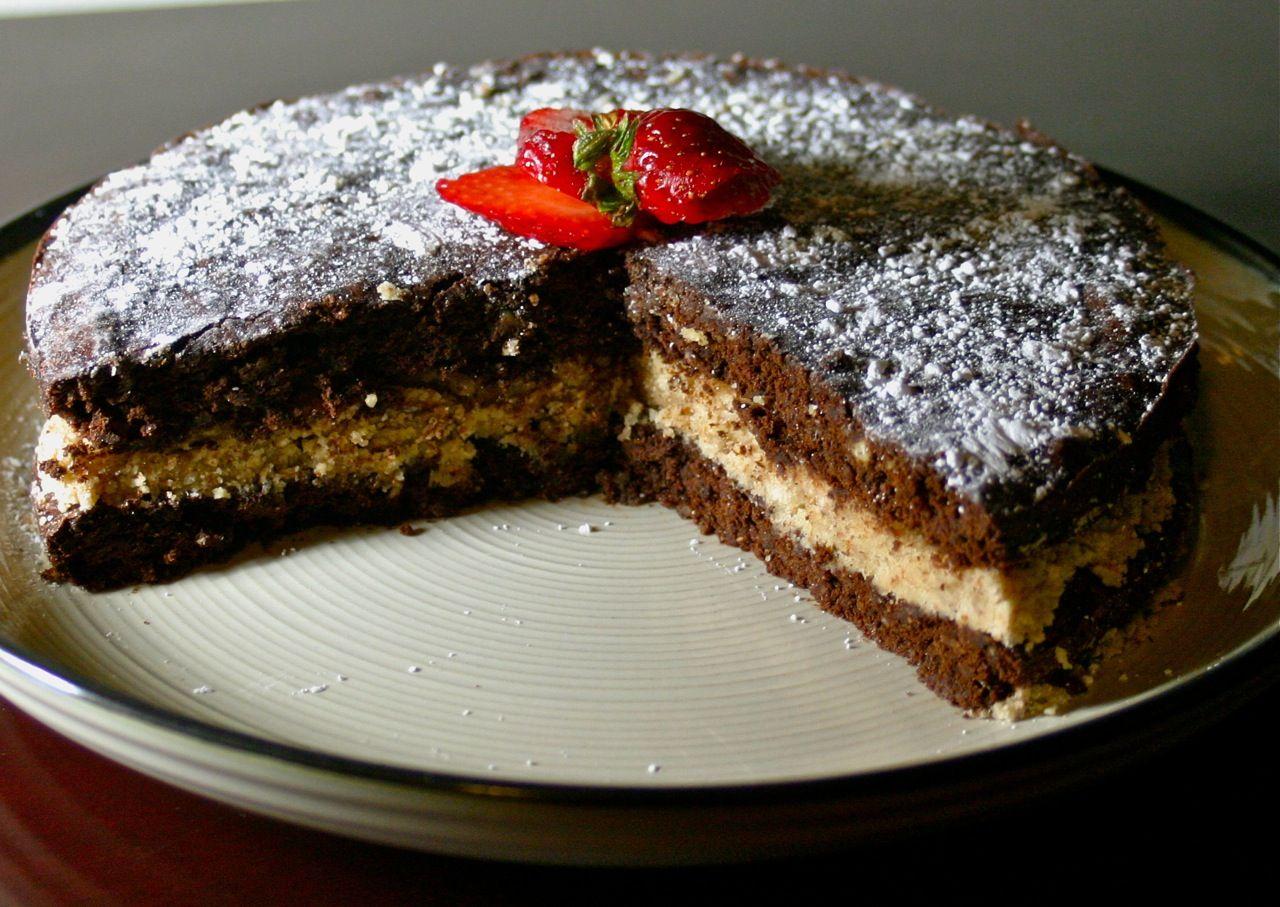 Polish chocolate almond recipe tort czekoladowy pyszne polskie polish chocolate almond recipe tort czekoladowy almond cake recipesdessert forumfinder Images