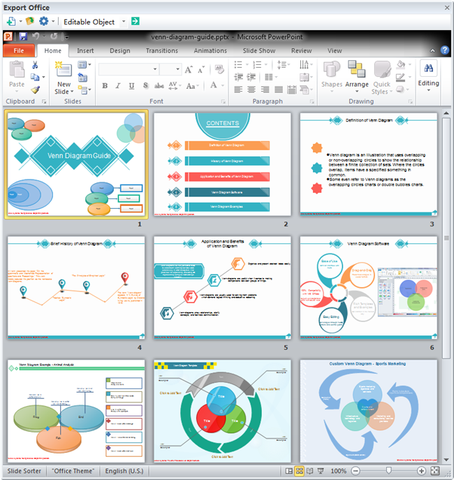 Creative Powerpoint Venn Diagram Manual Guide