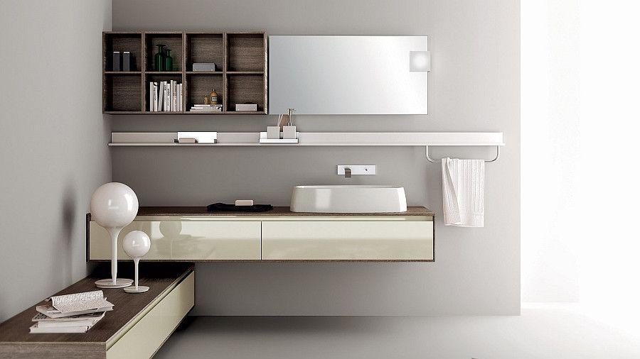 Badezimmer Regal Fur Die Wand Collection In 2020 Floating Bathroom Vanities Bathroom Vanity Remodel Modern Bathroom Cabinets