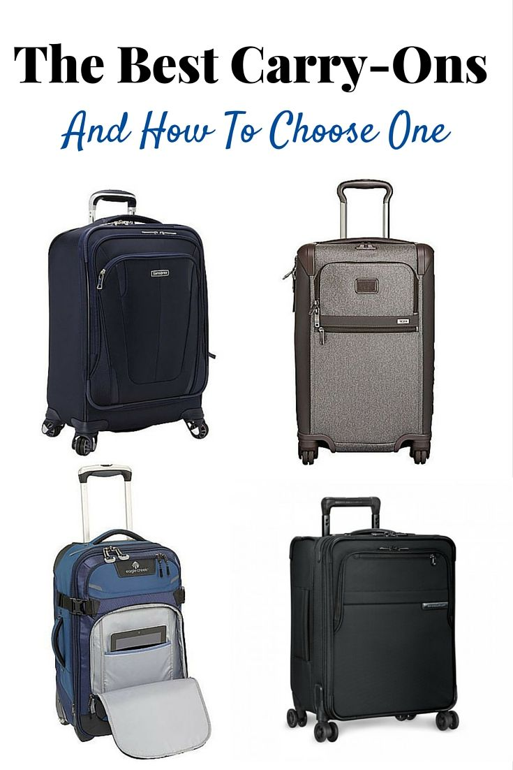 The Best Carry On Suitcase & Choose One   Wanderlust, Travel ...