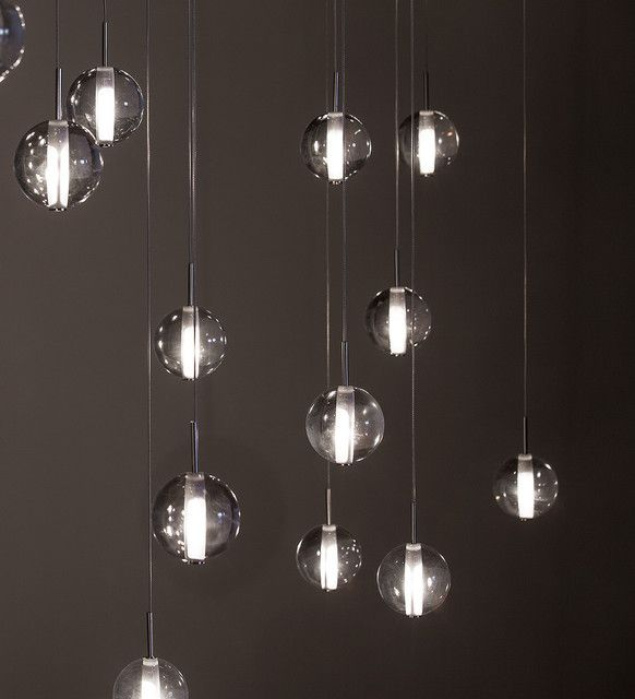 Selection Of Modern Lighting Can Enhance The Elegance Of Room In